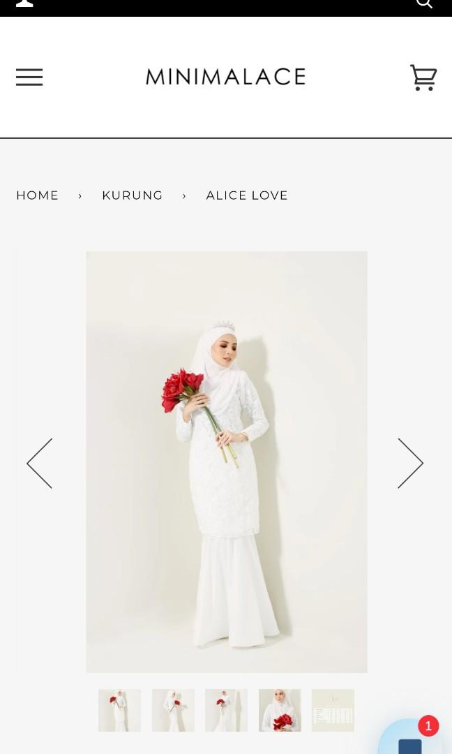 Minimalace Alice Kurung
