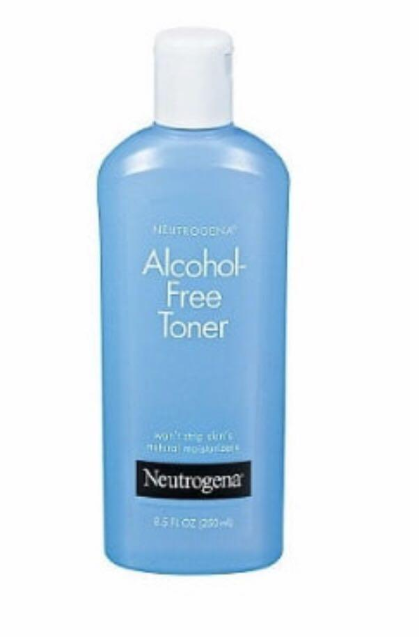Neutrogena Alcohol Free Toner On Carousell