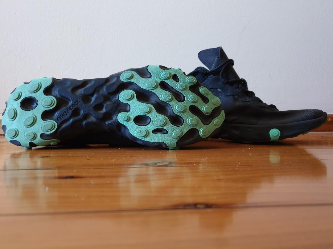 Nike element 50 react black with aqua detailing US Men's 10