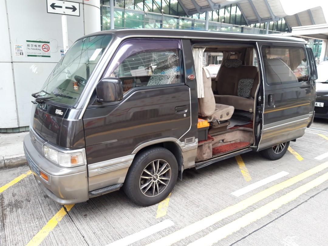 Nissan mini bus 7 seater disel 1994 model