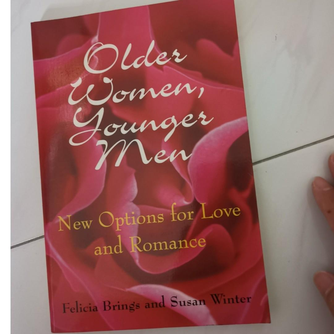 Younger man older woman romance books