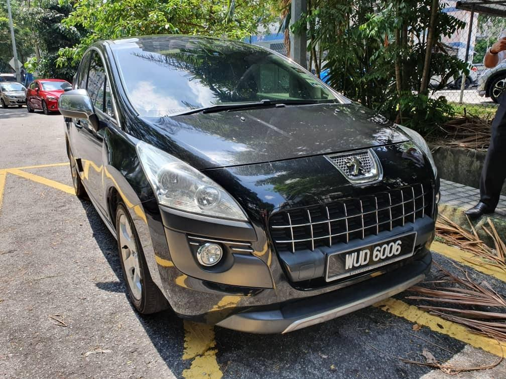Peugeot 3008 THP 1.6 A Full Spec Perfect Condition (DIRECT OWNER/BELOW MARKET PRICE/NO HIDDEN COST)