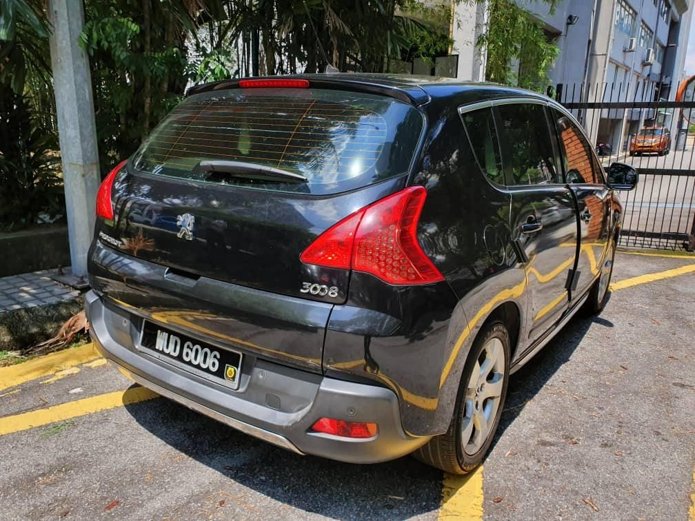PEUGEOT 3008 TURBO PANORAMIC PREMIUM 1600c.c AUTO SUVs