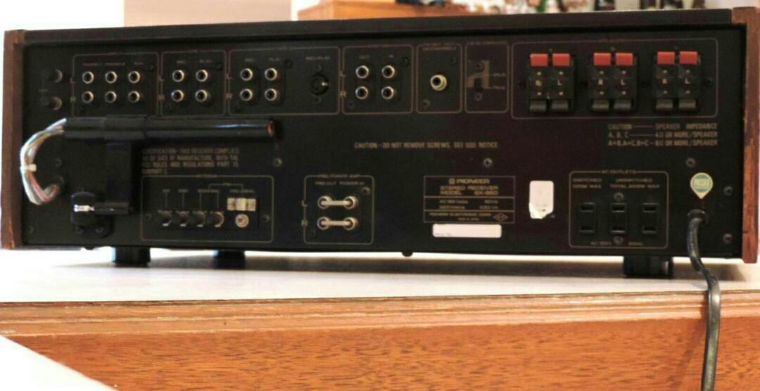 Pioneer SX-950 High End Vintage Receiver 1976 - Stunning!