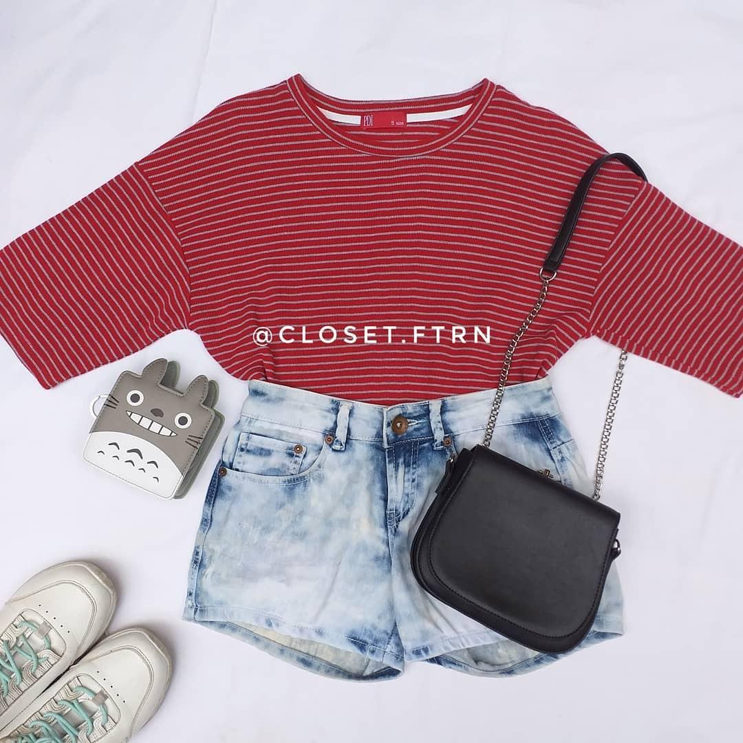 Red line shirt