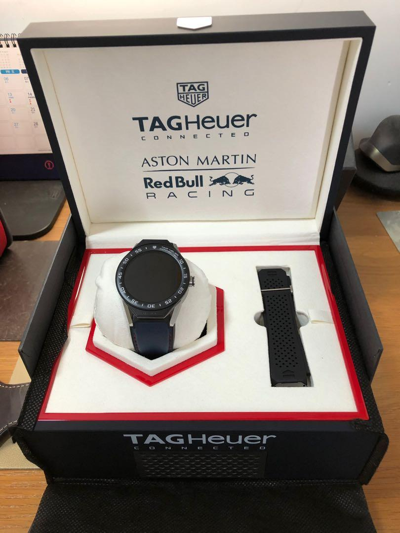 Tag Heuer Connected Modular 45 Aston Martin Red Bull Racing Shop Clothing Shoes Online