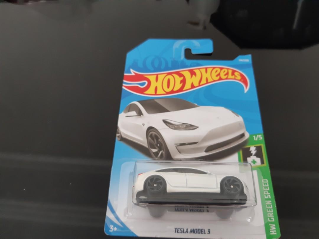 Tesla Model 3 Hot Wheels Model Toys Games Others On Carousell
