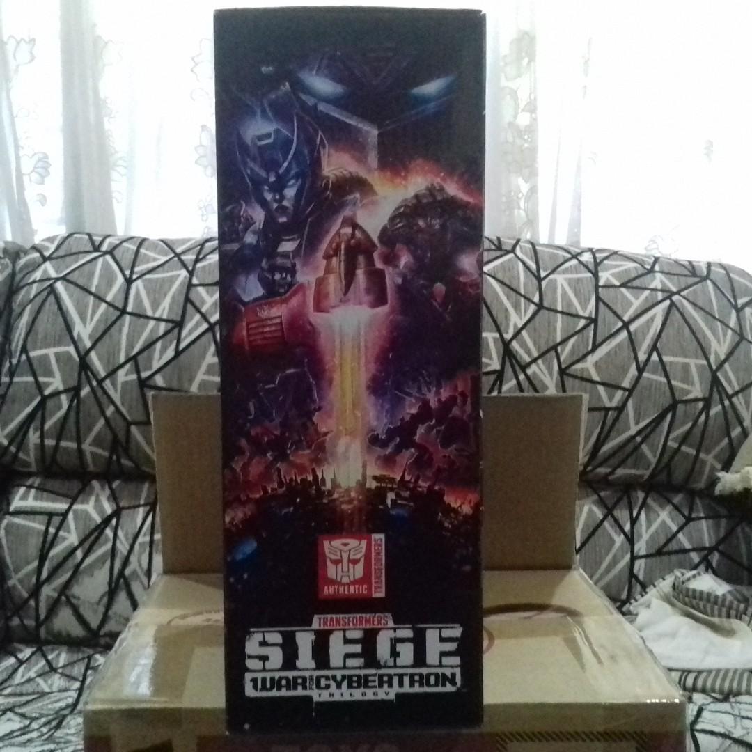 Transformers Siege Leader Class Shockwave