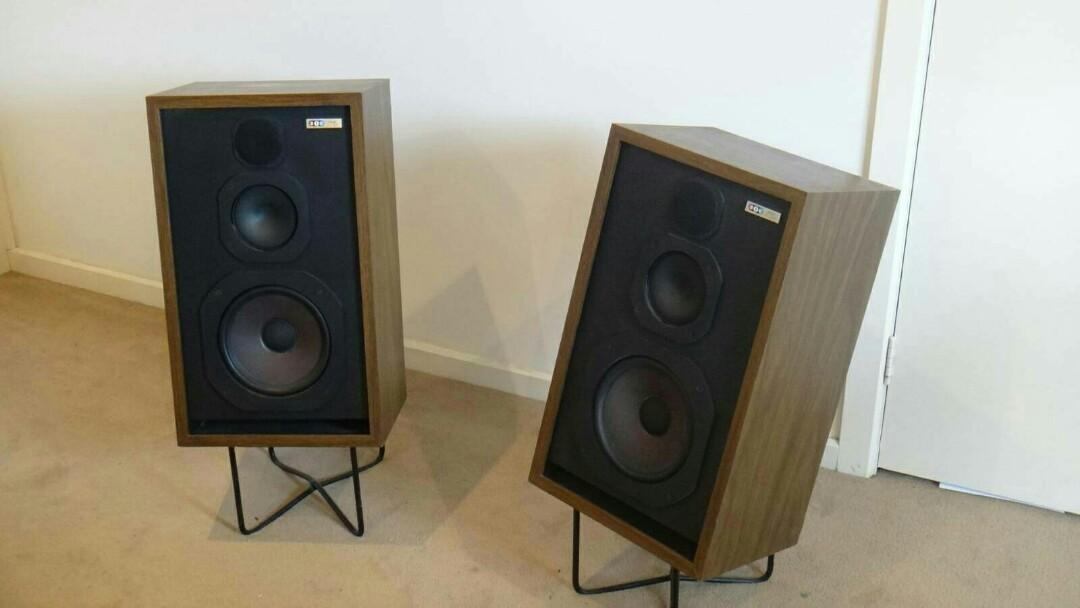 Vintage BIC 3-Way Speakers - Made in Long Island New York
