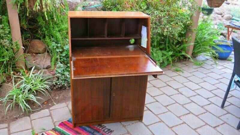 Vintage Mid -Century Fold Away Desk - Made in Brunswick