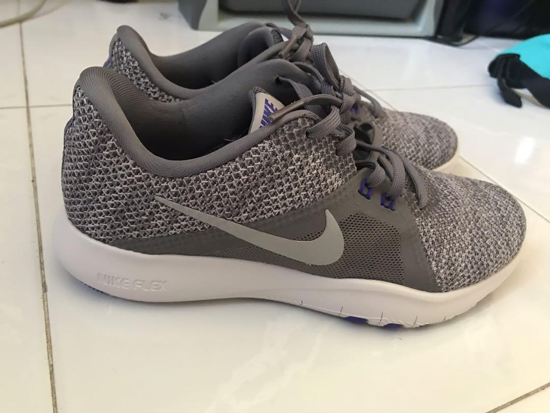 Women Nike Flex Trainer 8 Grey, Sports