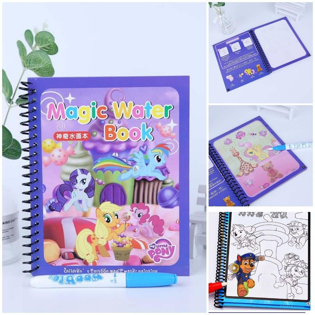 Writing Doodle Book Coloring Board