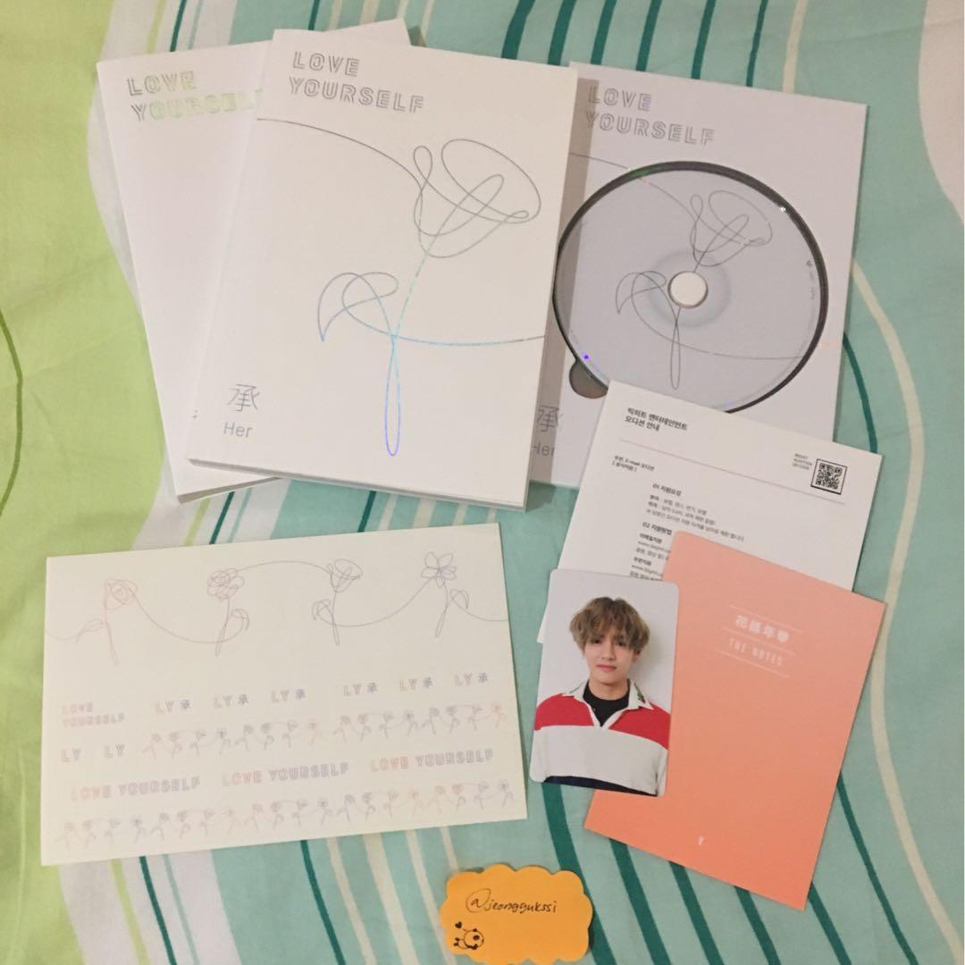 [WTS] BTS Love Yourself 'Her' V / Taehyung V Version Album