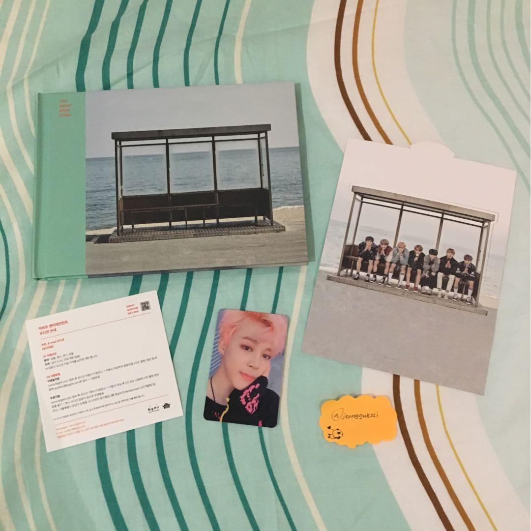 [WTS] BTS You Never Walk Alone Mint Version Jimin Photocard