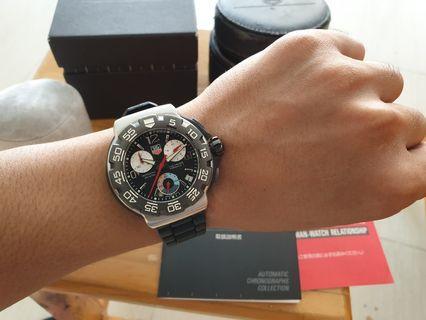 Rare Item TAG Heuer Formula One F1 Chronograph 200M Quartz ORIGINAL