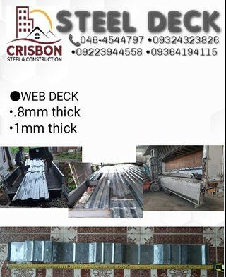 STEEL DECKING - View all STEEL DECKING ads in Carousell