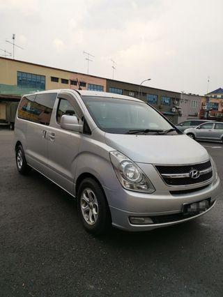 Car Rental hyundai starex 11 seater