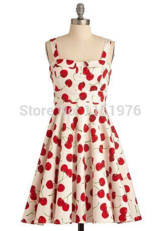 Cherry Dress from Mendocino