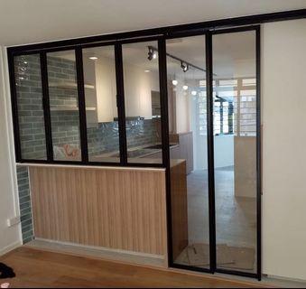 Glass Door for Kitchen