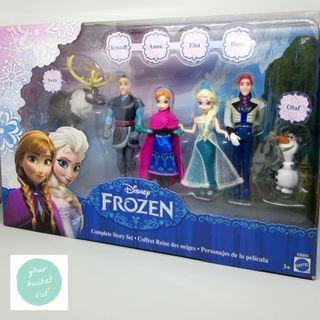 MATTEL Disney Frozen Complete Story Set Figure