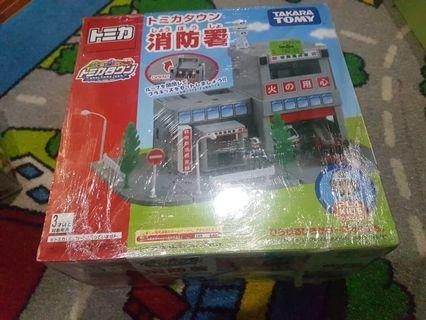 Tomica town takara tomy fire station