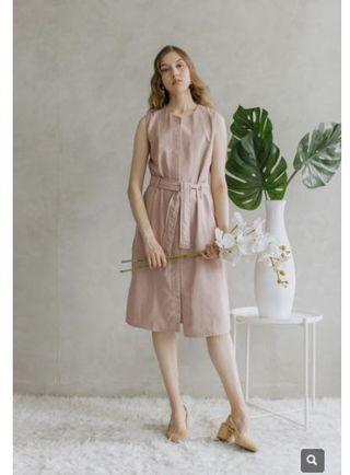 MAVEN DUSTY PINK OUTERDRESS