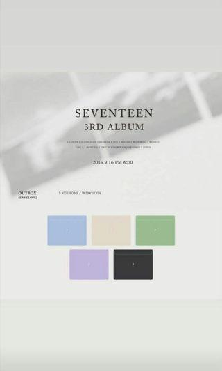 [EARLY PREORDER] 🇲🇾  SEVENTEEN 3RD FULL ALBUM