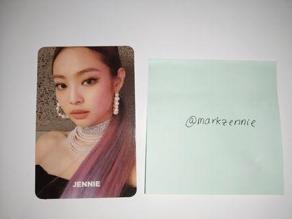 Blackpink Square Up Photocard Jennie