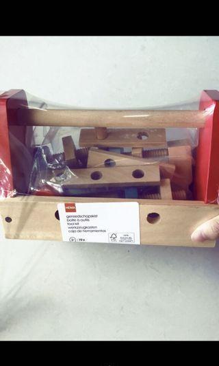 法國購入孩童工具積木