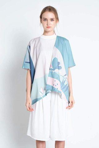 All Would Envy AWE Horizon Kimono Dusk