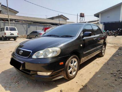 Toyota Altis 1.8 G 2003 A/T Matic Pajak hidup