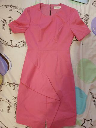 Pink elegant dinner dress