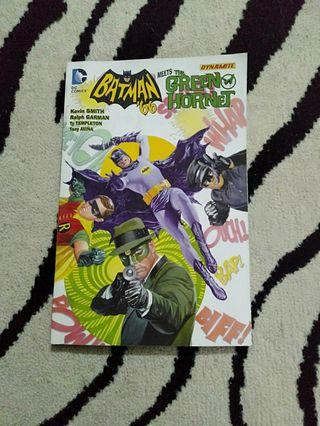 Batman '66 meets The Green Hornet Comic