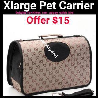 Cat Kitten Carrier Xlarge FOLDABLE Washable