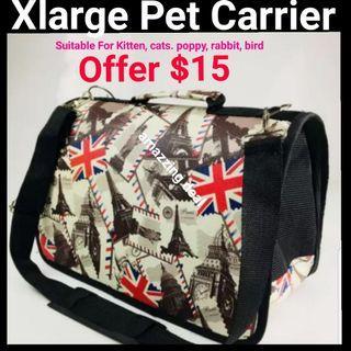 Pet Carrier Xlarge Foldable Washable