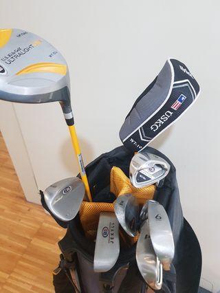 Junior Golf Set clubs with Bag