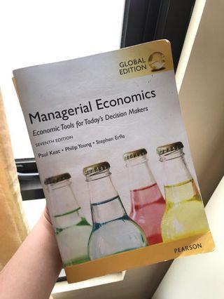 Managerial Economics Textbook