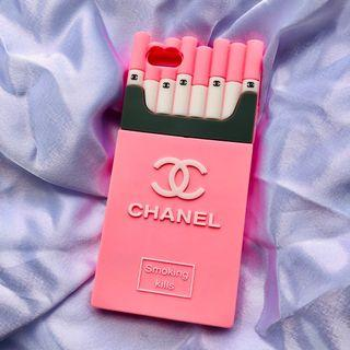 Iphone 6/6s Plus Chanel Rubber Casing