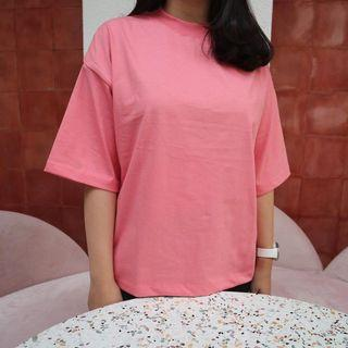Kaos Baju Blouse T-Shirt Oversized