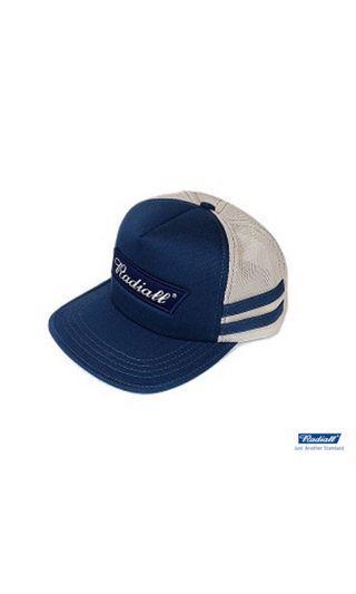 Radiall cvs trucker cap藍標卡車帽