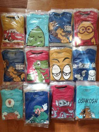 KAOS ANAK PREMIUM - OSHKOSH B'GOSH - HIGH QUALITY