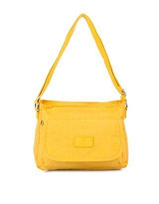 Nevada Yellow Mustard Crossbody Sling Bag