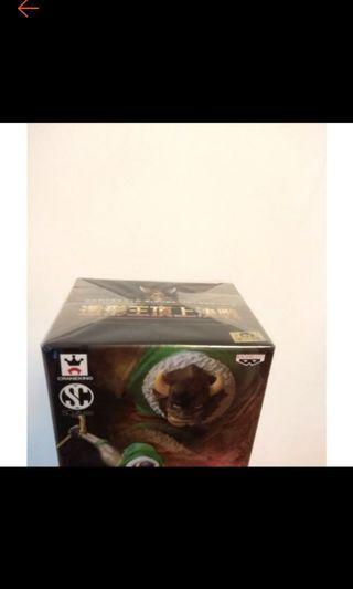 ((全新未拆 日本帶回 金證 日版 正版))造型王 頂上決戰 多爾頓 綠牛 海賊王 航海王 標準盒 包膜 (非夾物)