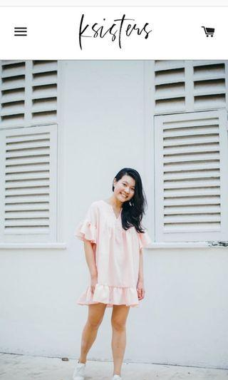 Ksisters Tunic Top - Baby Pink
