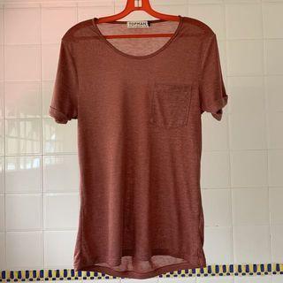 Topman Folded Short Sleeve Pocket T-Shirt