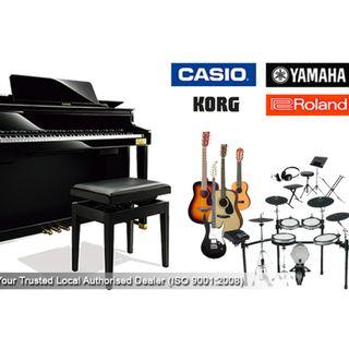 Absolute Piano Sale! Digital Piano - Keyboard - Accessories - from $11