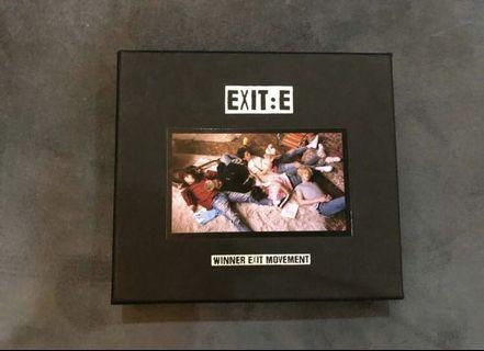WINNER 1st Mini Album EXIT : E (A ver)