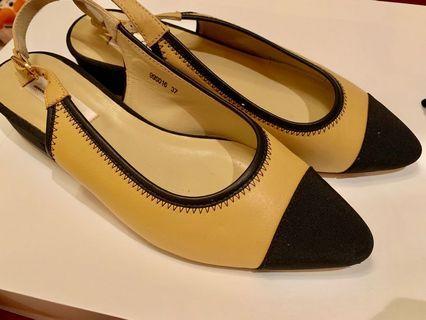 小香風氣質AS低跟鞋