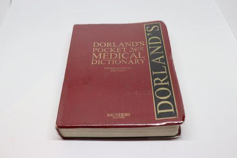 Dorland Pocket Medical Dictionary (28th Edition)