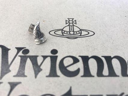 小牛角耳環